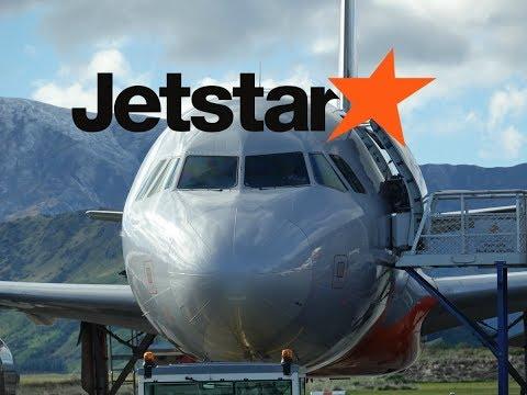 Jetstar A320 Queenstown To Sydney
