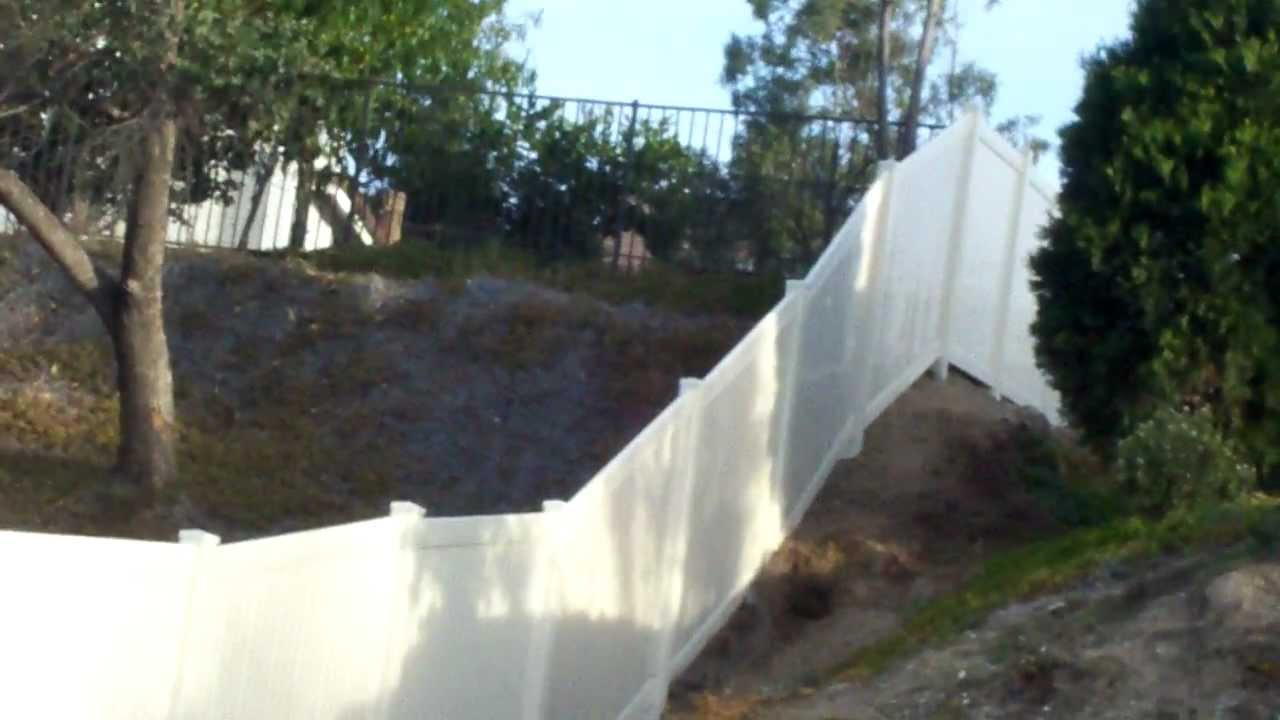 Elite fence co vinyl fence installation youtube elite fence co vinyl fence installation baanklon Image collections