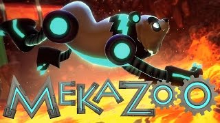 Mekazoo Review   WHAT if SONIC was like, 5 ANIMALS???