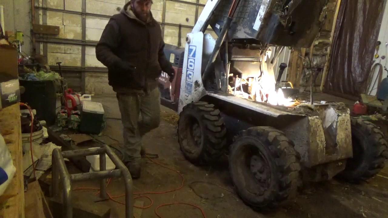 Bobcat the fix  Fuel tank pick up tube  YouTube