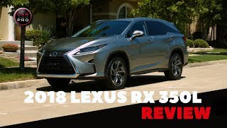 The 2018 Lexus RX 350L Offers the RX's First-Ever Third Row