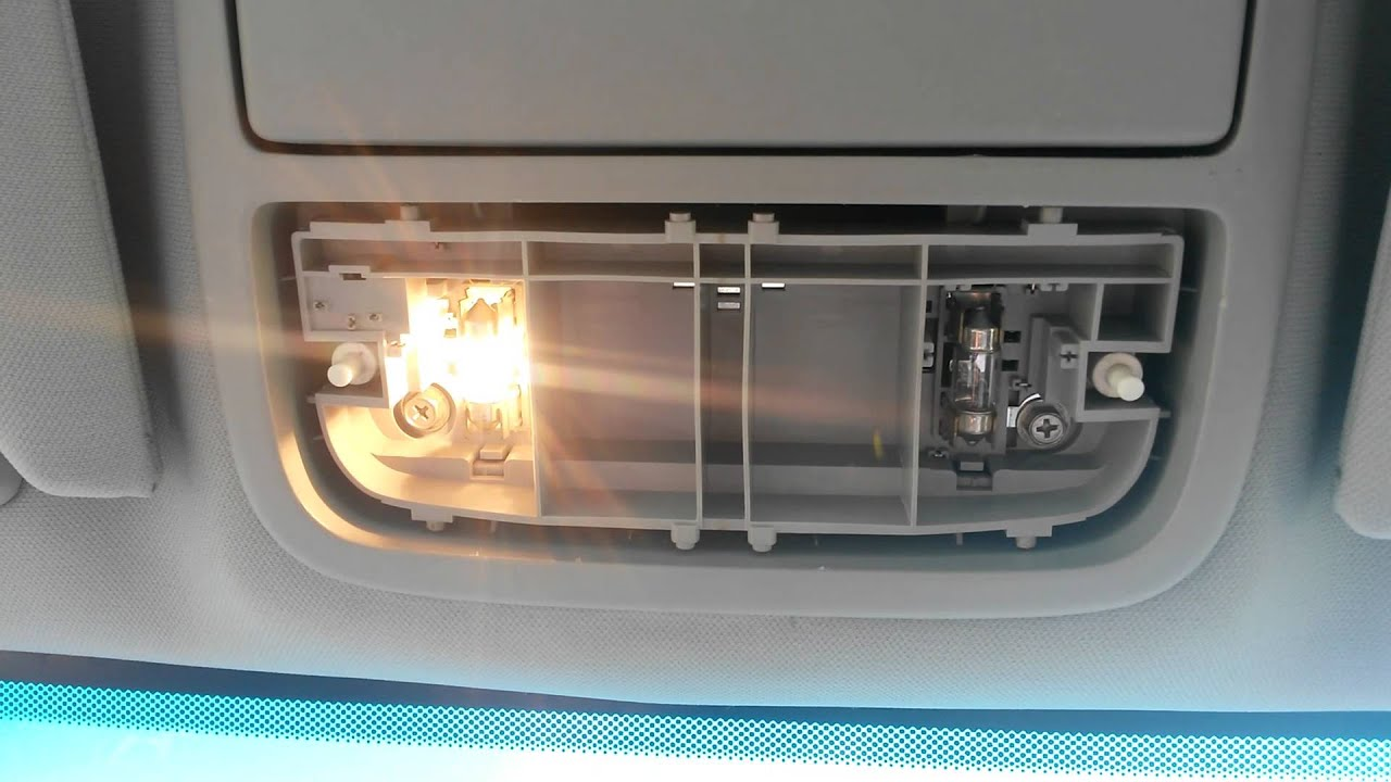 Honda Accord Map Light Replacement  YouTube
