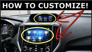 How to CUSTOMIZE your Subaru's Infotainment system!