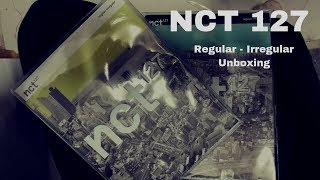 NCT 127 - Regular irregular Unboxing