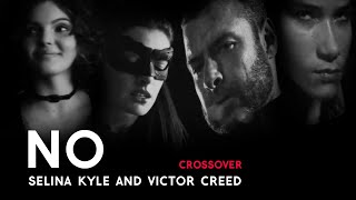 Gambar cover Selina Kyle & Victor Creed -- No!