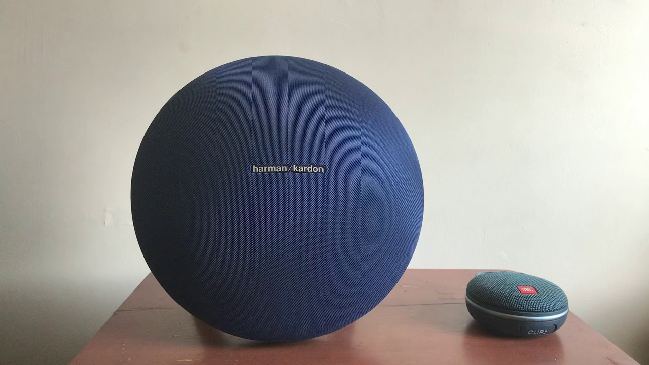 How to remove speaker covers on Harman/Kardon Onyx Studio 4 and Jbl Clip 3   Plus bass test