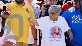 Juneteenth Grandma Opal Lee commemorated holiday by walking to downtown Fort Worth from Southside