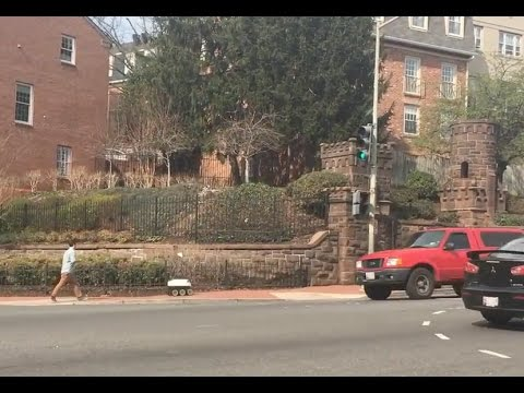 Food Delivery Drone In Washington Dc Youtube