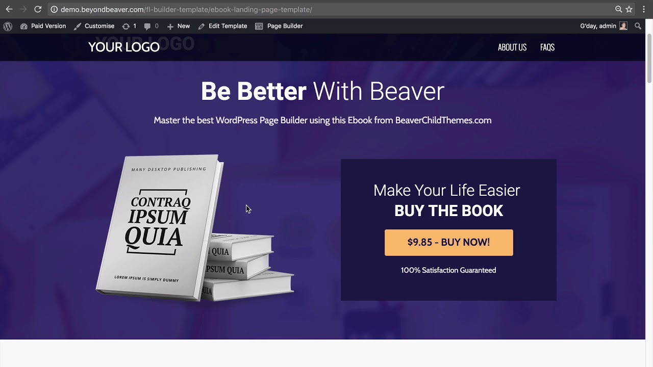 6 3 How to Import and Export Beaver Builder Page Templates between ...