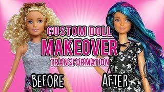 Barbie Custom Doll Makeover Transformation (#10: Galaxy Barbie)
