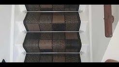 How to install carpet runner and stair rod. Part 2