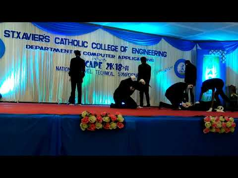 Mime For Syrian By St.John's College Students On St. Xavier Engineering College