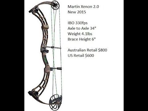 Martin Xenon 2.0 compound bow review 2015