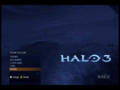 Halo 3 Main Menu Music