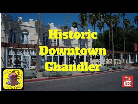Downtown Chandler Historic Tour