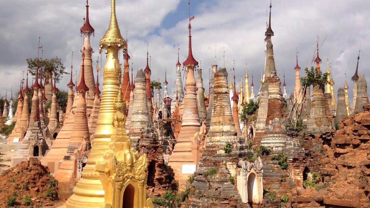 U Saw Birmania Indein Pagodas ...