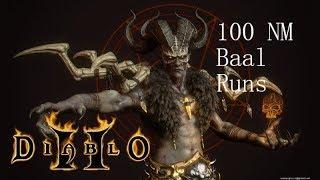 D2: LoD - 100 Nightmare Baal Runs w/ Hammerdin (Untwinked)
