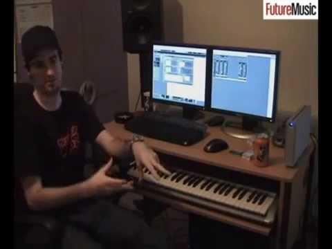Pendulum's Rob Swire In The Studio With Future Music 2006 - Basslines