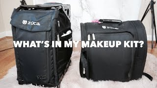 WHATS IN MY PROFESSIONAL FREELANCE MAKEUP KIT | DECEMBER 2018