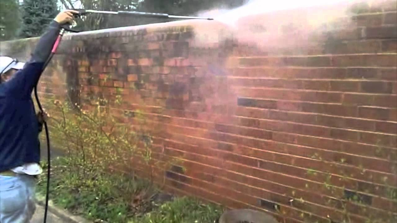 Pressure Washing And Cleaning Brick Richmond Va Youtube