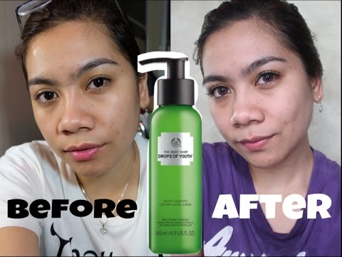 My #SkinGoals 2017 | Review The Body Shop Drops of Youth Liquid Peel | Jihan Putri