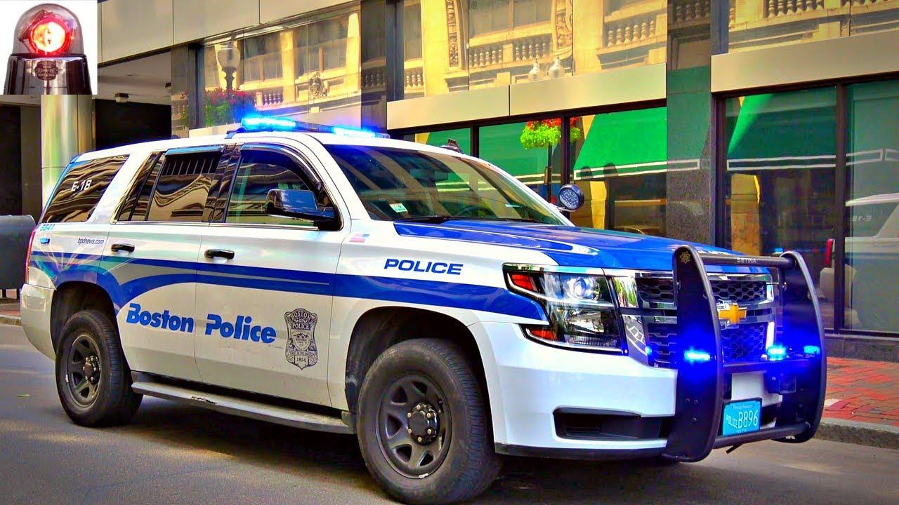 Boston Police Chevy Tahoe PPV - Walk Around - YouTube