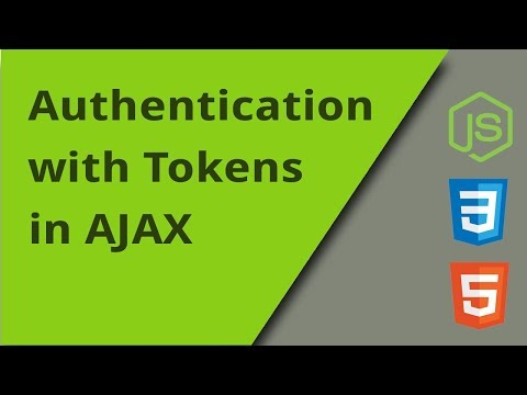 AJAX Requests With Token Authentication