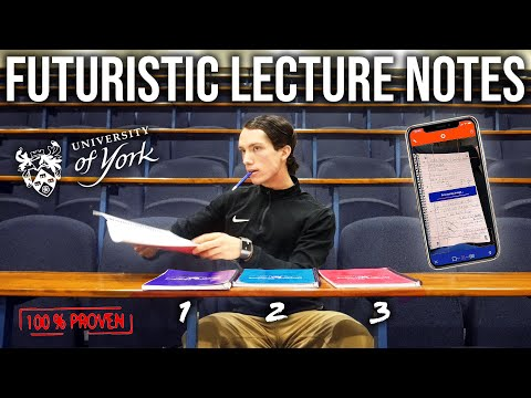 Campus Security Came For Me!! + My NEW Modern Note-taking System FOR UNI in 2020: Backed by Science