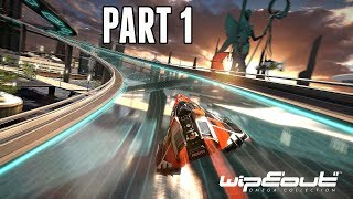 Wipeout Omega Collection Campaign Part 1 - AGRC 2048 Cup (Wipeout 2048 PS4 Pro Gameplay)