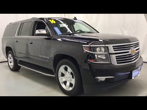 2016 Chevrolet Suburban Des Plains, Niles, Glenview, Chicago, Elk Grove, IL T7731A