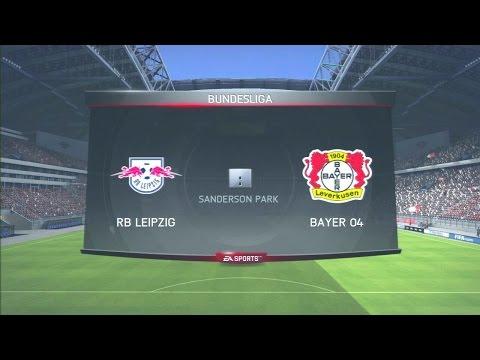 Bayer Leverkusen Vs RB Leipzig, LIVE, 18/11/2016, Bundesliga, PES