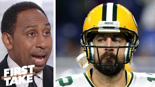 Stephen A.: Packers are 'wasting away the greatest years of Aaron Rodgers' career' | First Take