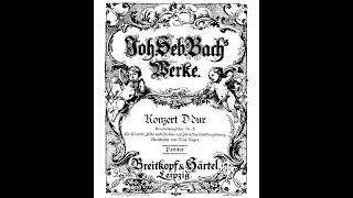 J.S. Bach - Brandenburgisches Konzert n° 5, BWV 1050