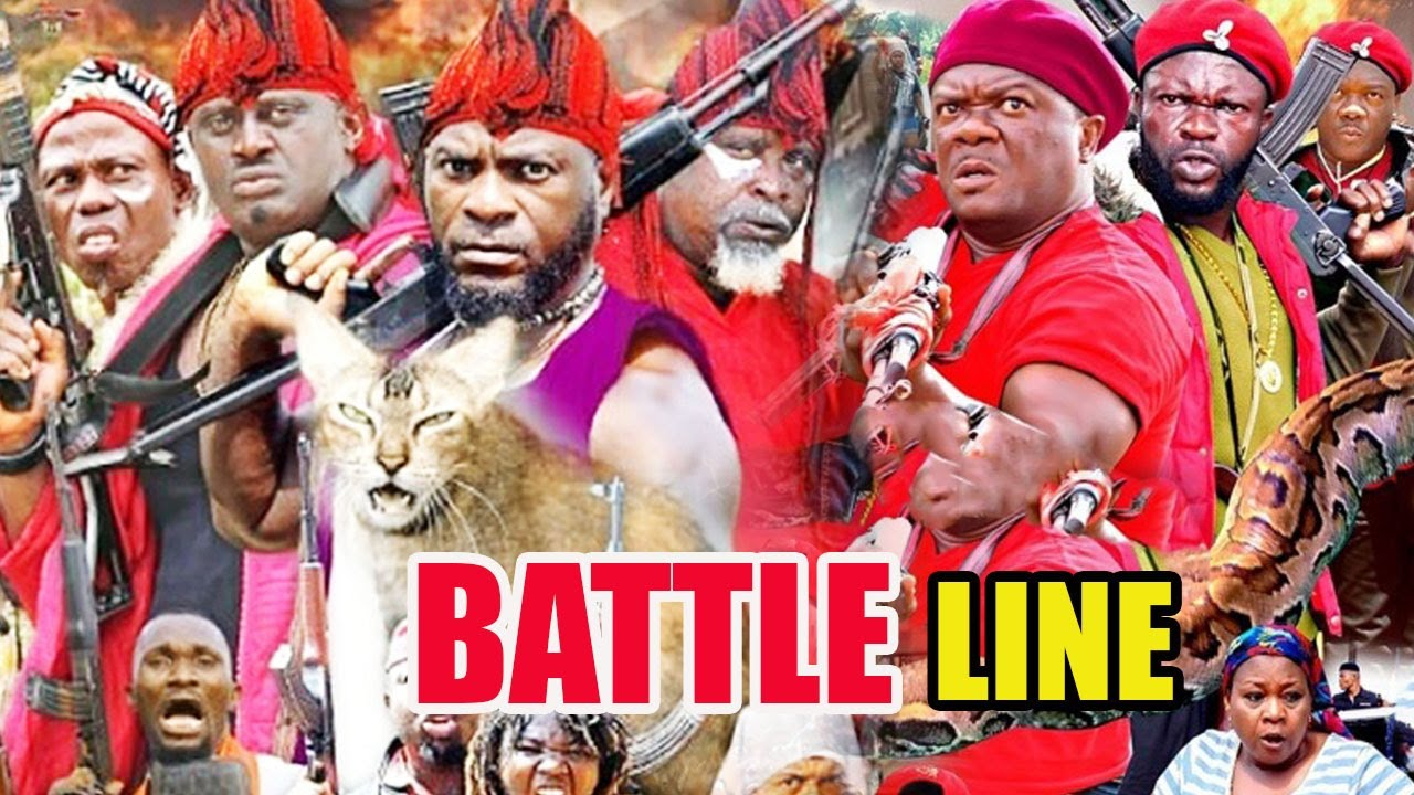 Download Battle Line Part 1&2 - Kelvin Books Ikeduba & Don Brymo Latest Nollywood Nigerian Action Movies