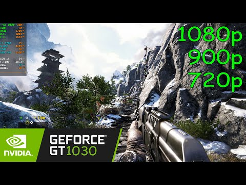 Far Cry 4 - GT 1030 - 1080p, 900p, 720p |