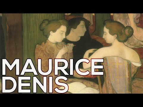 Maurice Denis: A collection of 324 paintings (HD)