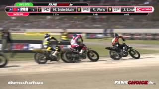 2015 DAYTONA Flat Track - Harley-Davidson GNC1 and GNC2 Heat Races Thursday