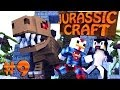 "Minecraft | Jurassic Craft - Dinosaurs Ep 9 ""TRAIN STATION!"""