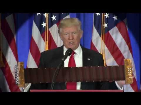 Зеркальные жесты. Трамп с гармошкой