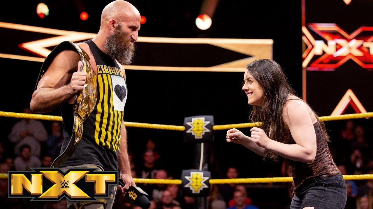 Download Nikki Cross' revelation unsettles Tommaso Ciampa and Velveteen Dream: WWE NXT, Oct. 10, 2018