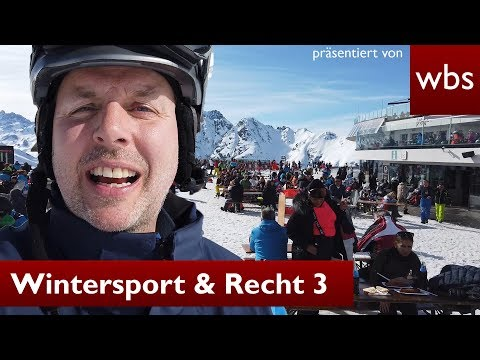 Recht beim Skifahren - Skilehrer & Lawinengefahr - Teil 3 | Rechtsanwalt Christian Solmecke