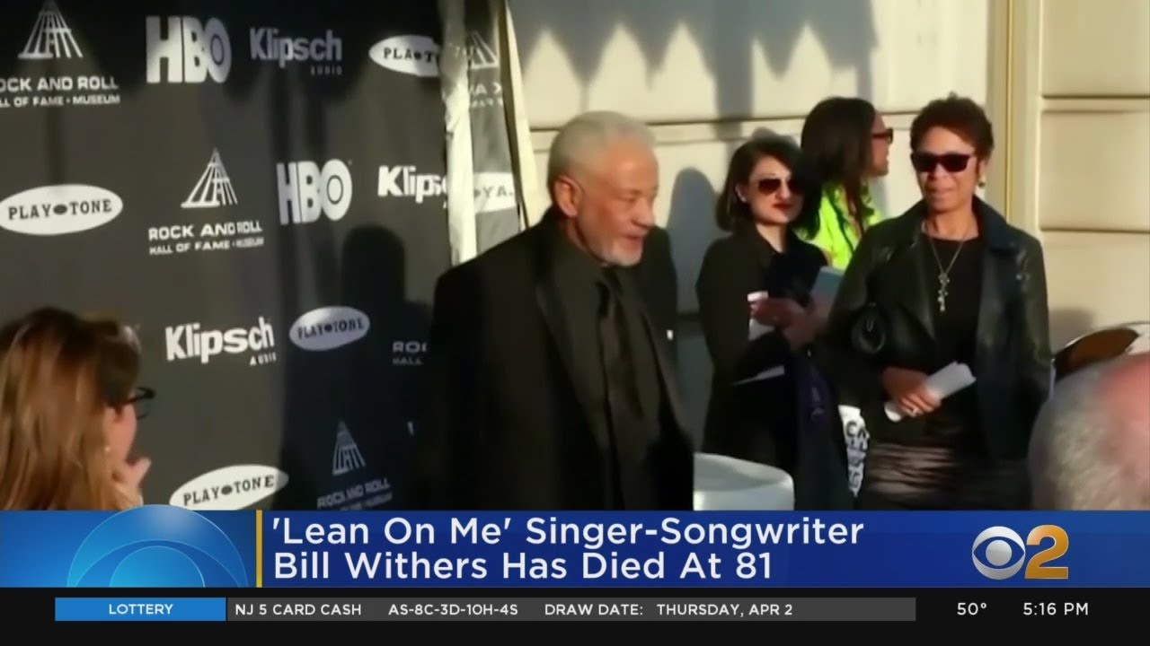 Bill Withers, Singer-Songwriter Of 'Ain't No Sunshine,' Has Died At ...