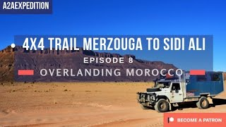 4x4 Trail from Merzouga to Sidi Ali in Morocco