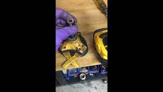 How to replaced or repair a STIHL FS 38 Curved shaft trimmer's bushings or driveshaft.