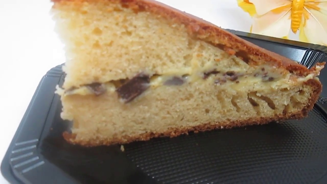 Gateau Au Yaourt Fourre A L Orange Curd Et Copeaux De Chocolat Youtube