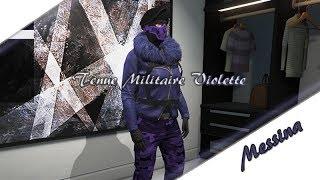 GTA 5 ONLINE   TENUE MILITAIRE VIOLETTE