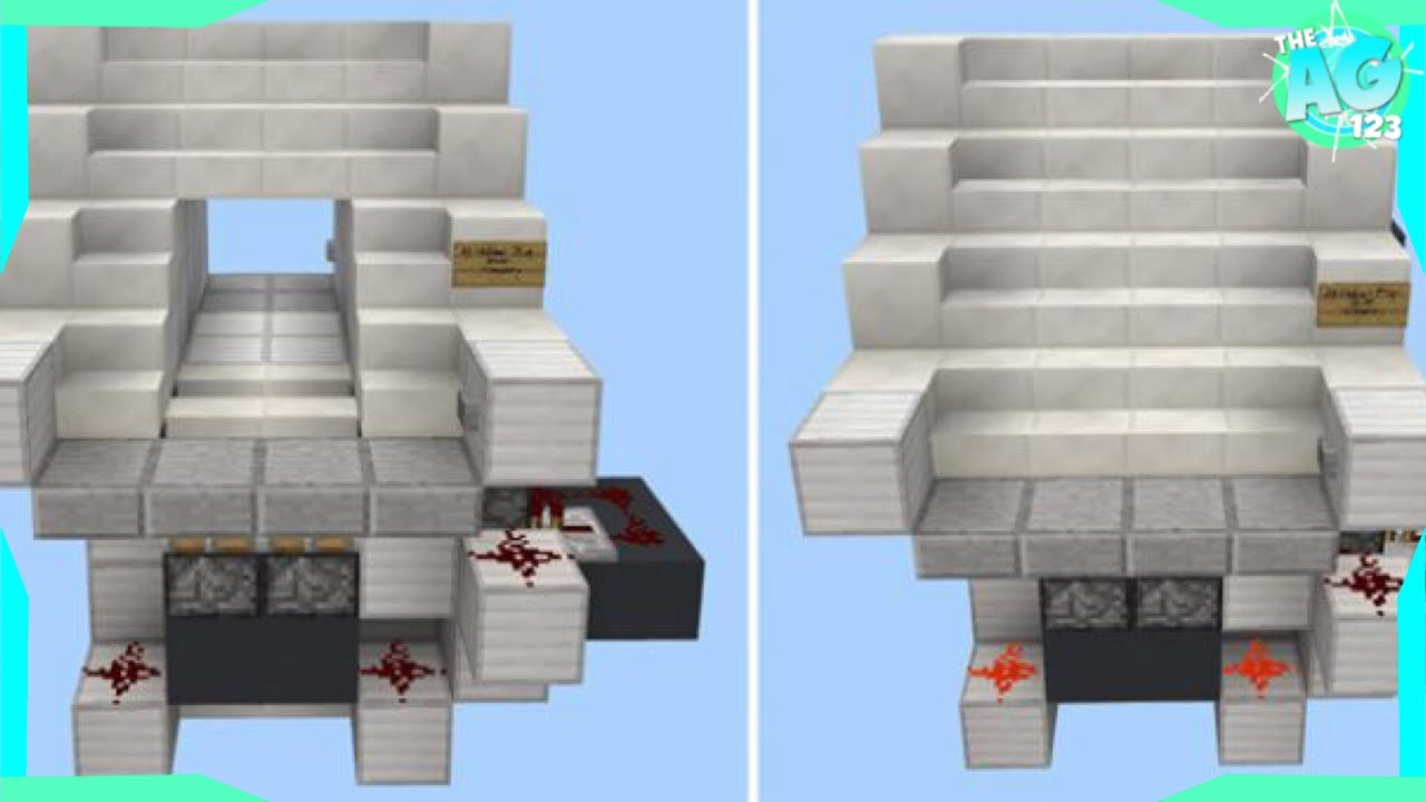 10 Redstone Contraptions For Your House! | MCPE Creations