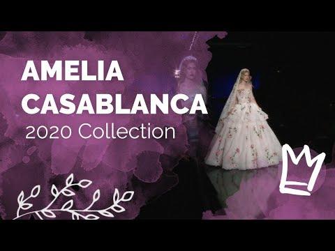 AMELIA CASABLANCA Abiti Da Sposa 2020 - Sfilata Sì Sposa Italia