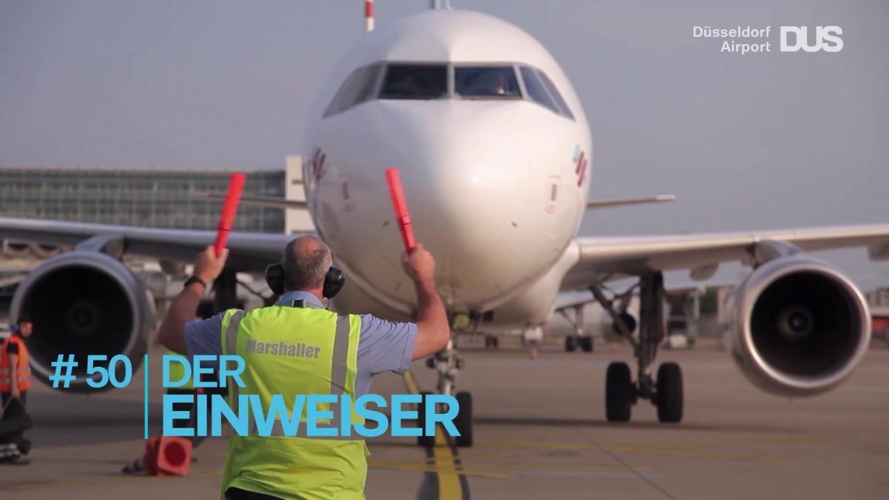 Der Dusseldorfer Airport Im Sekundentakt Youtube