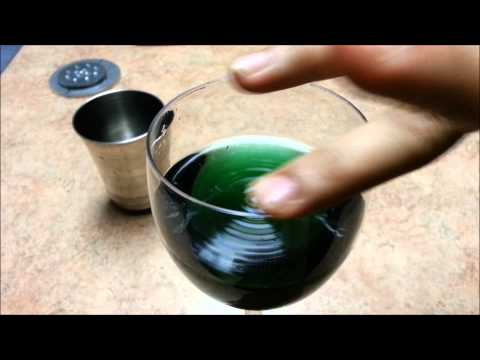 Water sound wave in wine glass - Weekend Science